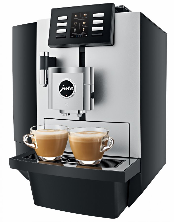 Jura X8 Platinum Coffee Machine The Hottest New Jura Arrival